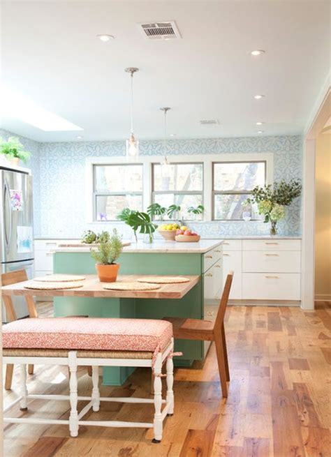 kitchen table island 30 kitchen islands with tables a simple but clever combo