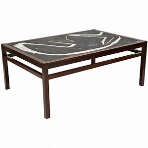 abstract tile coffee table With coffee table with tiles