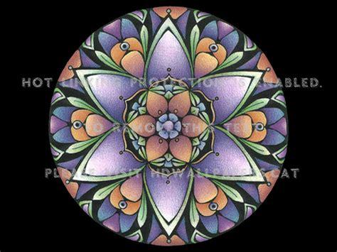 Mandala Iii F2 Spiritual Sanskrit Buddhist Hd Wallpaper