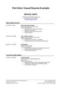 resume for part time students surprisingly easier part time job resume exles 2017 resume exles 2017