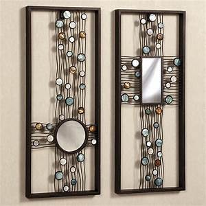 Creative Mirror Wall Decor : Metal Mirror Wall Decor