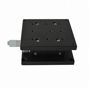 Z Axis Linear Stage Double Cross Rail Guide Platform
