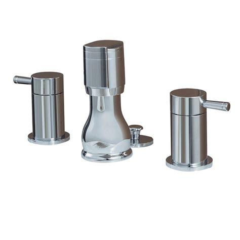 Plumbing Bidet by American Standard Serin 2 Handle Bidet Faucet In Polished