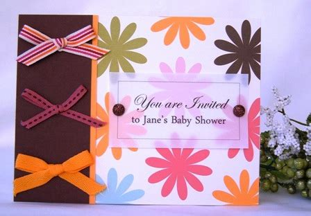 baby shower invitation homemade card ideas  create invites