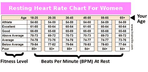 Average Pulse Rate For Women | Heart Rate Zones