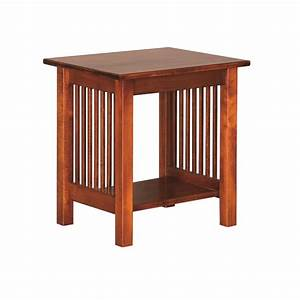 Mission Small End Table Amish Mission Small End Table