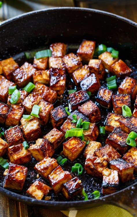It is frequently used as a vegetarian alternative to meat items in the crafting recipes for various food items. Asian Garlic Tofu - Spicy Southern Kitchen