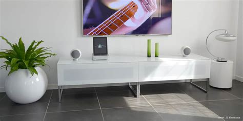 norstone khalm blanc meubles tv sur easylounge