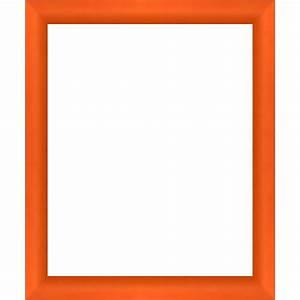 Cadre Photo Sur Mesure : cadres arrondis oranges sur mesure pour encadrer votre ~ Dailycaller-alerts.com Idées de Décoration