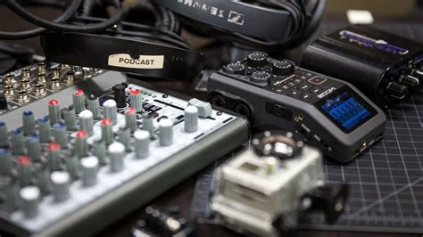 podcasting equipment   budgets tech talks