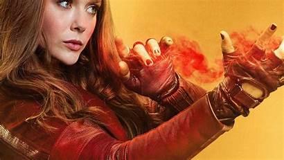 Scarlet Olsen Elizabeth Witch Comics Wanda Maximoff