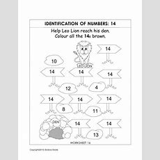 Number Recognition Worksheets & Activities  Number 14, Number Worksheets And Number Recognition