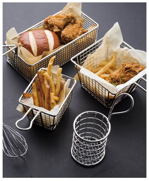 Frying Basket Food Basket Stainless Steel French Fries