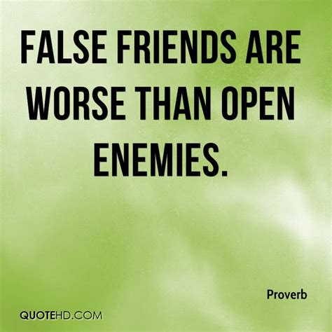 Untrue Friendship Quotes