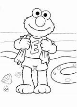 Coloring Beach Pages Printable Elmo Themed Theme Barbie Sesame Street Cakes Print Cake Handicraft Arts Craft Crafts Getcolorings sketch template