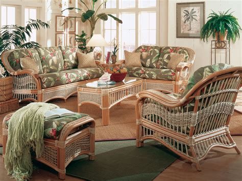 seascape rattan  piece sunroom set model ss set