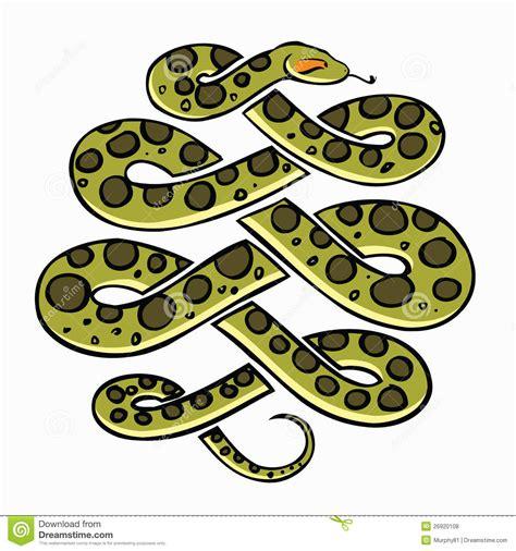 rattlesnake clipart anaconda snake pencil   color