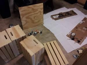 Faire Une Belle Table Pour Recevoir : des caisses de vin d tourn es pour fabriquer une table basse ~ Melissatoandfro.com Idées de Décoration