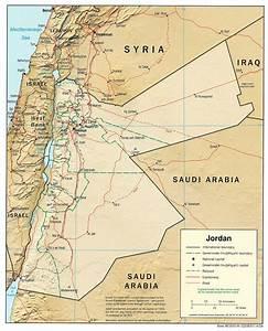 Mapas da Jordânia: Localização, Turístico e Geográfico
