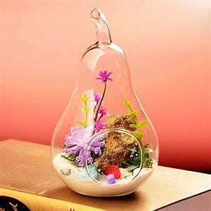 Tillandsien Im Glas : gazechimp h ngen oliven figur transparent glas vase glasvase flasche f r pflanzen ~ Eleganceandgraceweddings.com Haus und Dekorationen