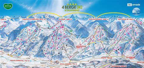 bergfex piste map hauser kaibling schladming ski