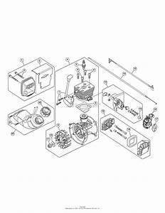 Mtd 41bs2hbc799  316 791650  Parts Diagram For Engine Assembly