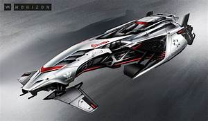 concept ships: Futuristic Racing Glider concepts by Vadim ...