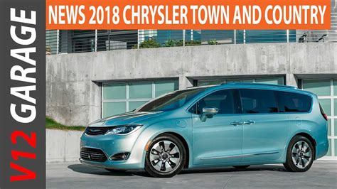 2018 Chrysler Town And Country Minivan Price And Release