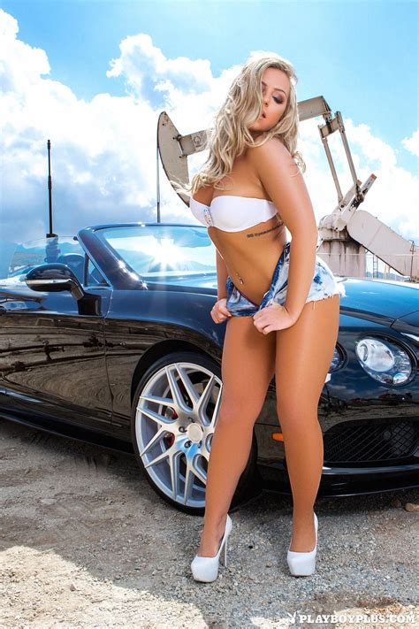 teya kaye proudly puts her best assets on display