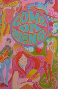 1960's Invitation | Hippie art, Art, 60s art