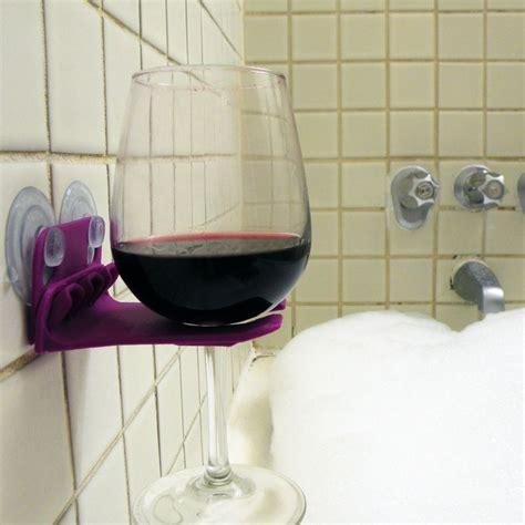 bathtub wine glass holder best 25 bathtub wine glass holder ideas on