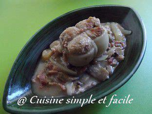 cuisine simple et facile paupiette de veau à la sauce forestière cuisine simple