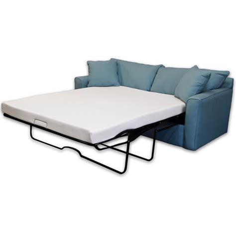 full size sleeper sofa with memory foam mattress select luxury new life 4 5 inch full size memory foam sofa