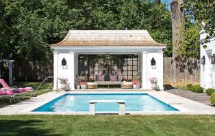 25 pool houses to complete your backyard retreat - House Plans With Inlaw Quarters