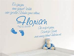 Motive Für Babyzimmer : baby wandtattoos kleine f chen mit namen ~ Michelbontemps.com Haus und Dekorationen