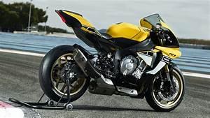 Yamaha R1 2016 : yamaha yzf r1 yellow black 2016 wallpapers 2048x1152 793888 ~ Medecine-chirurgie-esthetiques.com Avis de Voitures