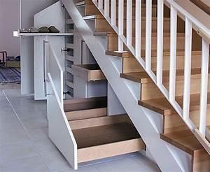 Treppe Mit Schubladen : der platz unter der treppe bietet viel stauraum der aber ~ Michelbontemps.com Haus und Dekorationen