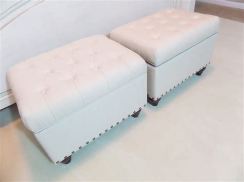 how to make a storage ottoman diy file storage ottoman be my guest with denise