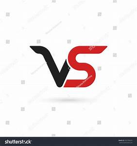 Versus Letters Logo. Letters V And S, Flat Style Symbol ...