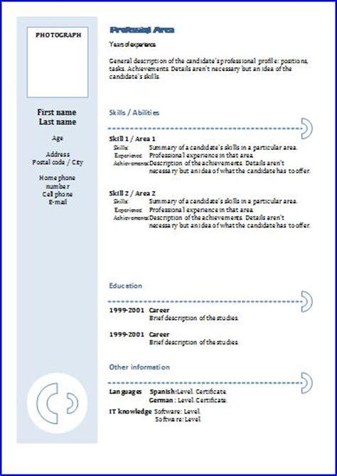 cv templates functional  resume templates