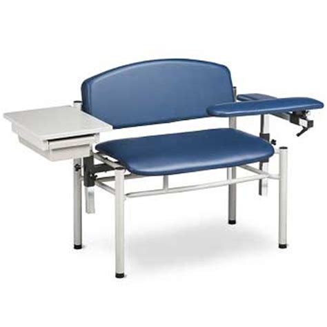 clinton sc series blood drawing chair w arm
