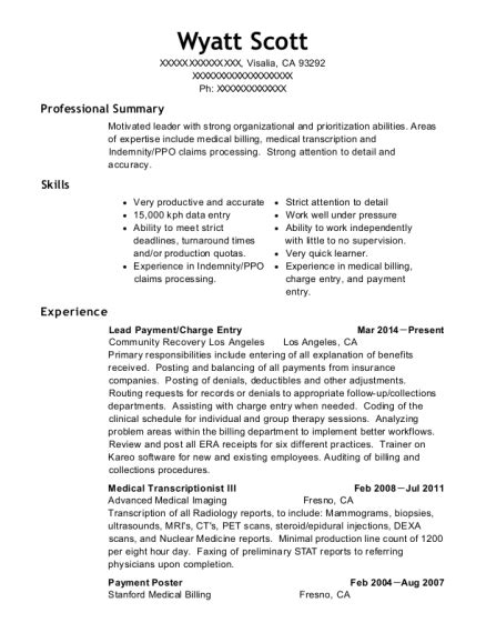 Resume Charges by Cibz Mmp Zotec Payment Poster Resume Sle Overland