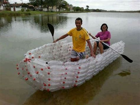 boat    water bottles amazing creations