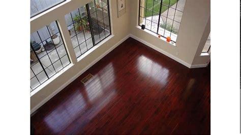 Brazilian Cherry Hardwood Floors Youtube