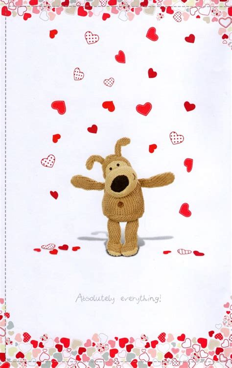 boofle  special valentines day card cards love