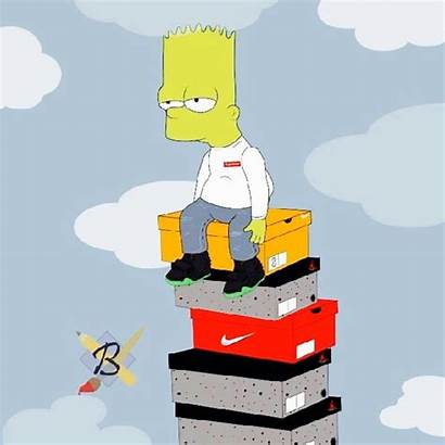 Bart Supreme Simpson Dope Simpsons Wallpapers Cartoon