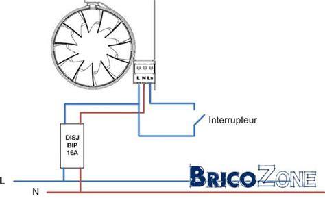 cablage salle de bain raccordement ventilateur de sdb page 2