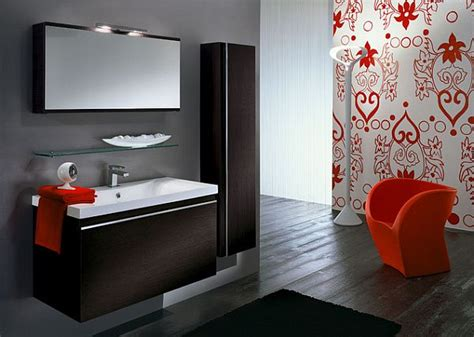 bathroom colors pulp up your bathroom with shades of orange Modern