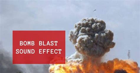 Bomb Blast Sound Effect Free MP3 Download | Music Related