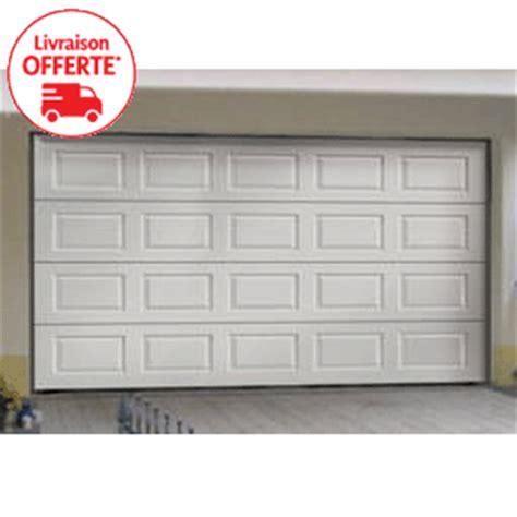porte de garage sectionnelle a bas prix sur mesure avec gefradis